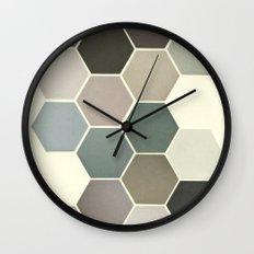Shades of Grey Wall Clock