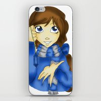 ravenclaw iPhone & iPod Skins featuring Ravenclaw by Maiii