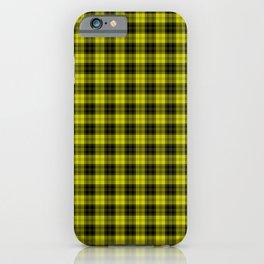 Scottish Clan MacLachlan Tartan iPhone Case