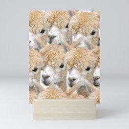Alpaca Herd Mini Art Print