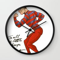 ARTIE! The Strongest Man in the World! Wall Clock