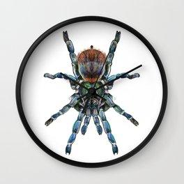BottleGreen Blue Tarantula Wall Clock