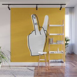 Two Moods Only Wall Mural
