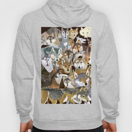 Wolves o´clock (Time to Wolf) Hoody