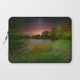 Sunset On The Lagoon Laptop Sleeve