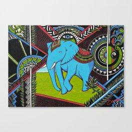 Elephant's sense Canvas Print