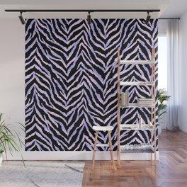 Zebra fur texture print II Wall Mural