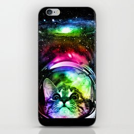 Cosmos Cat iPhone Skin