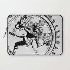 Natraj Dance - Mono Laptop Sleeve