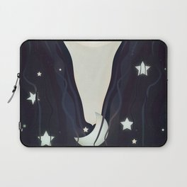 The moon and stars in my hair Laptop Sleeve