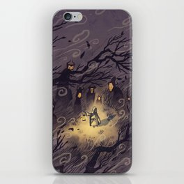 Could It Be The Wind? iPhone Skin
