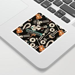 Jazz Rhythm (negative) Sticker