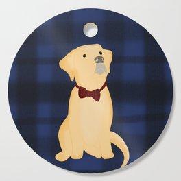 Best Friend Labrador Puppy In A Bow Tie Cutting Board