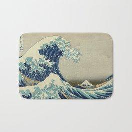 The Great Wave Off Kanagawa Bath Mat