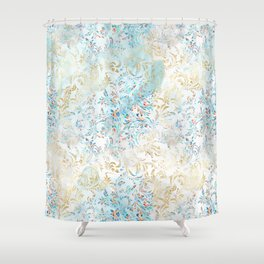 Feather peacock #12 Shower Curtain
