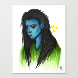 Loki - Jotun Form Canvas Print