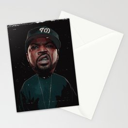 rapper thug Stationery Cards