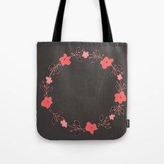 coral blossoms Tote Bag
