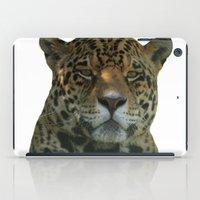 jaguar iPad Cases featuring Jaguar by Sean Foreman