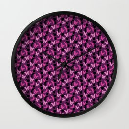 Mixed Bugs Design Wall Clock