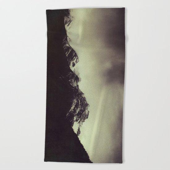 Shadow Mountain - Italian Alps Beach Towel