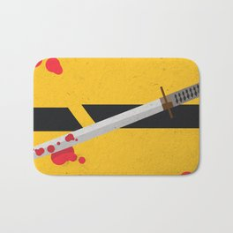 KILL BILL Tribute Bath Mat