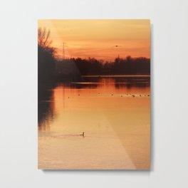 The beautiful sunrise Metal Print