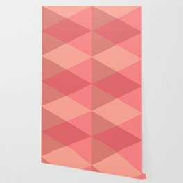 Rose Triangles Wallpaper