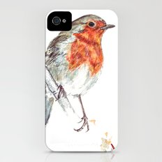 European Robin iPhone (4, 4s) Slim Case