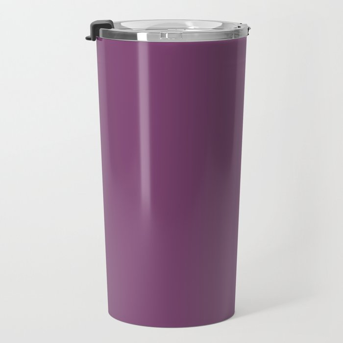 Grape Kiss Purple | Solid COlour Travel Mug