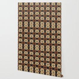 Mud cloth diamonds Wallpaper