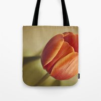 tulip Tote Bags featuring Tulip by Lawson Images