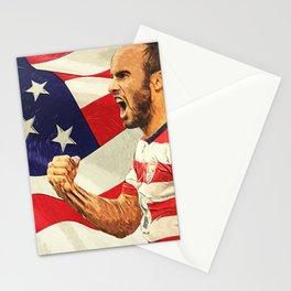 Landon Donovan Stationery Cards