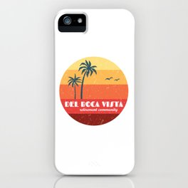 Del Boca Vista iPhone Case