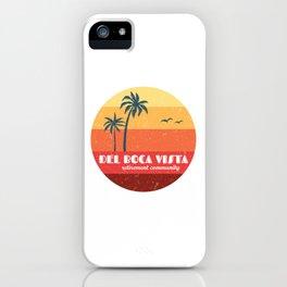 Del Boca Vista iPhone Case
