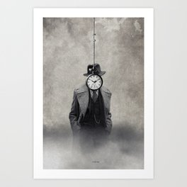 Unlimited time... Art Print