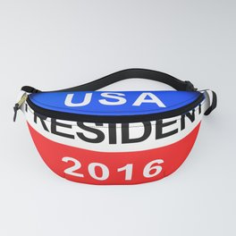 Vote Button President Fanny Pack