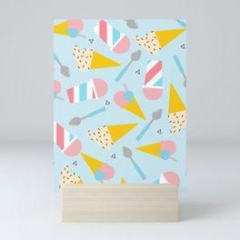 Gelato Pattern Mini Art Print