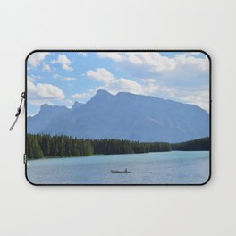 Two Jack Lake Canadian Rockies Laptop Sleeve