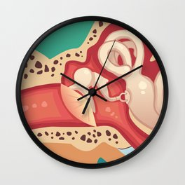 Ear Wall Clock