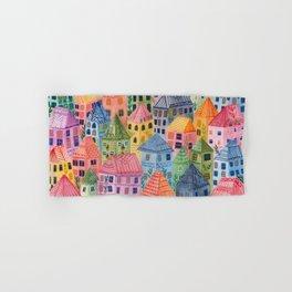 Summer City Hand & Bath Towel