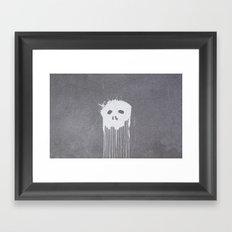 Skull Head Framed Art Print