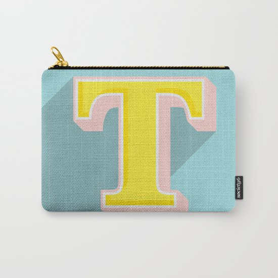 T is for .... Carry-All Pouch