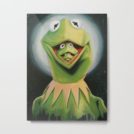 Frogception Metal Print