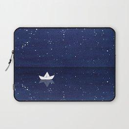 Zen sailing, ocean, stars Laptop Sleeve