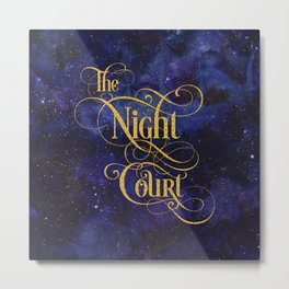 The Night Court Metal Print