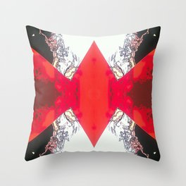 Diamond Crevasse  Throw Pillow