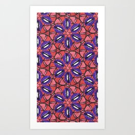 Aphrodite (Red) Print Art Print