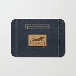 Belgian shepherd - Malinois Bath Mat