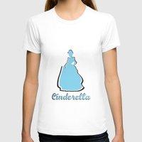 cinderella T-shirts featuring Cinderella by husavendaczek
